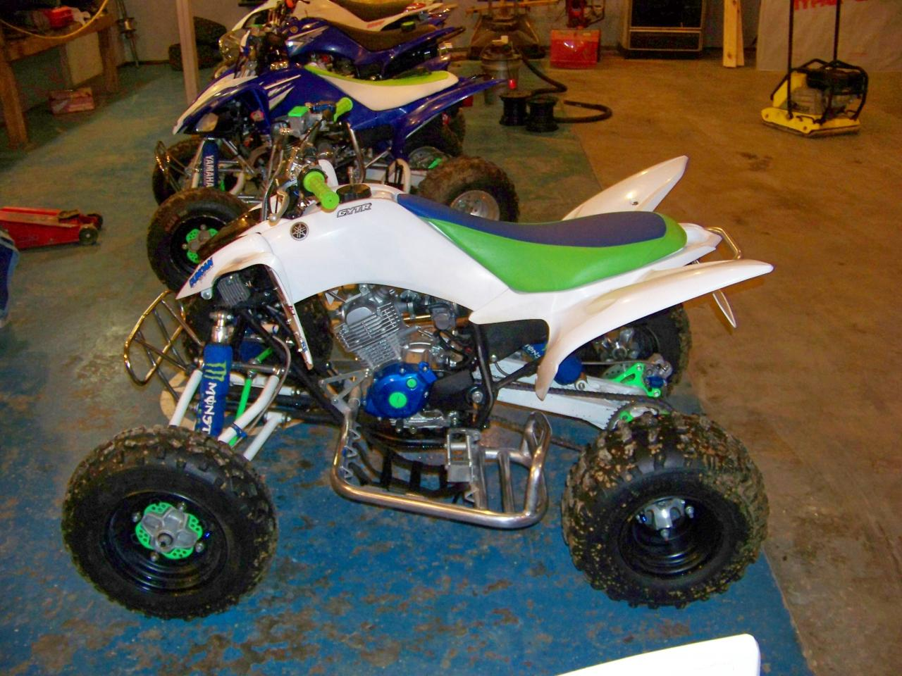 pics of raptor 125 race quad yamaha raptor forum. Black Bedroom Furniture Sets. Home Design Ideas