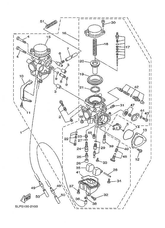 raptor 660 carburetor diagram | Diarra