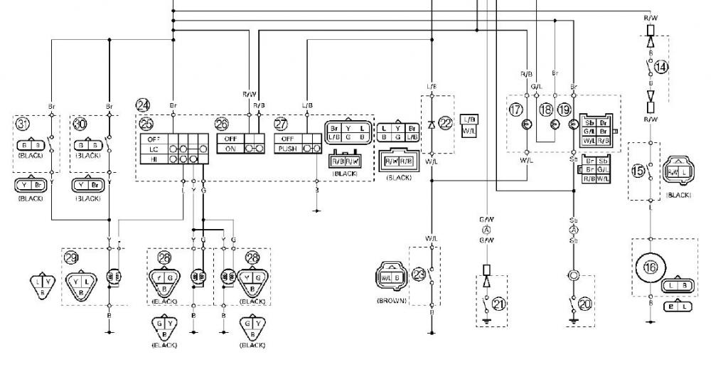 Yamaha Raptor 80 Wiring Diagram