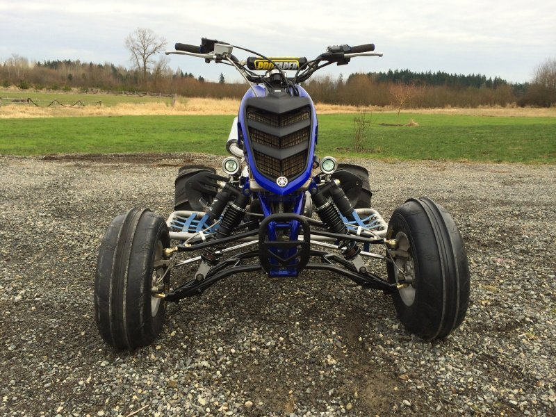Alba Racing long travel a-arms - Yamaha Raptor Forum