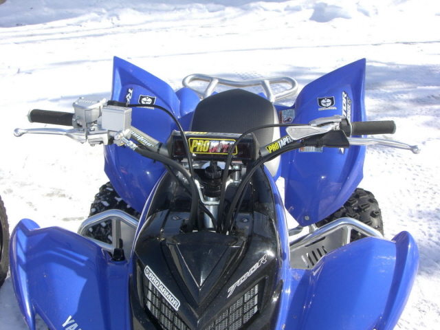 Pro Taper Handlebars >> Photos of Rox and Pro Taper setup. - Yamaha Raptor Forum