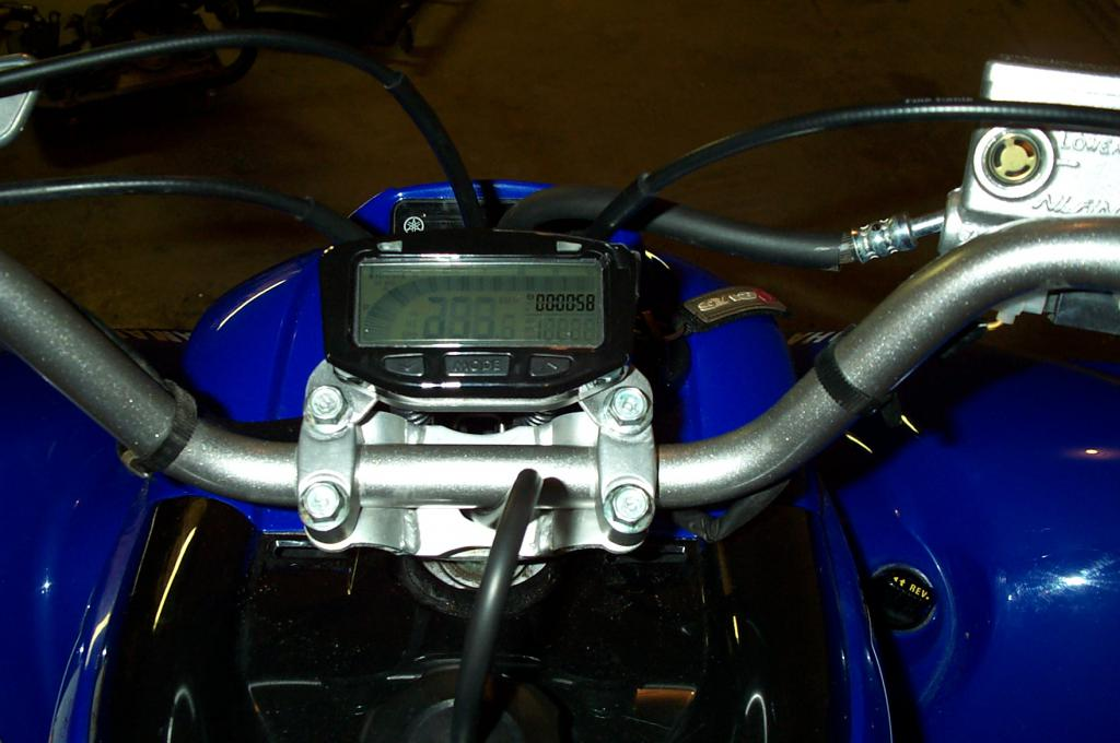 D Key Relocation Trail Tech Vapor Install Dcp on yamaha raptor 700