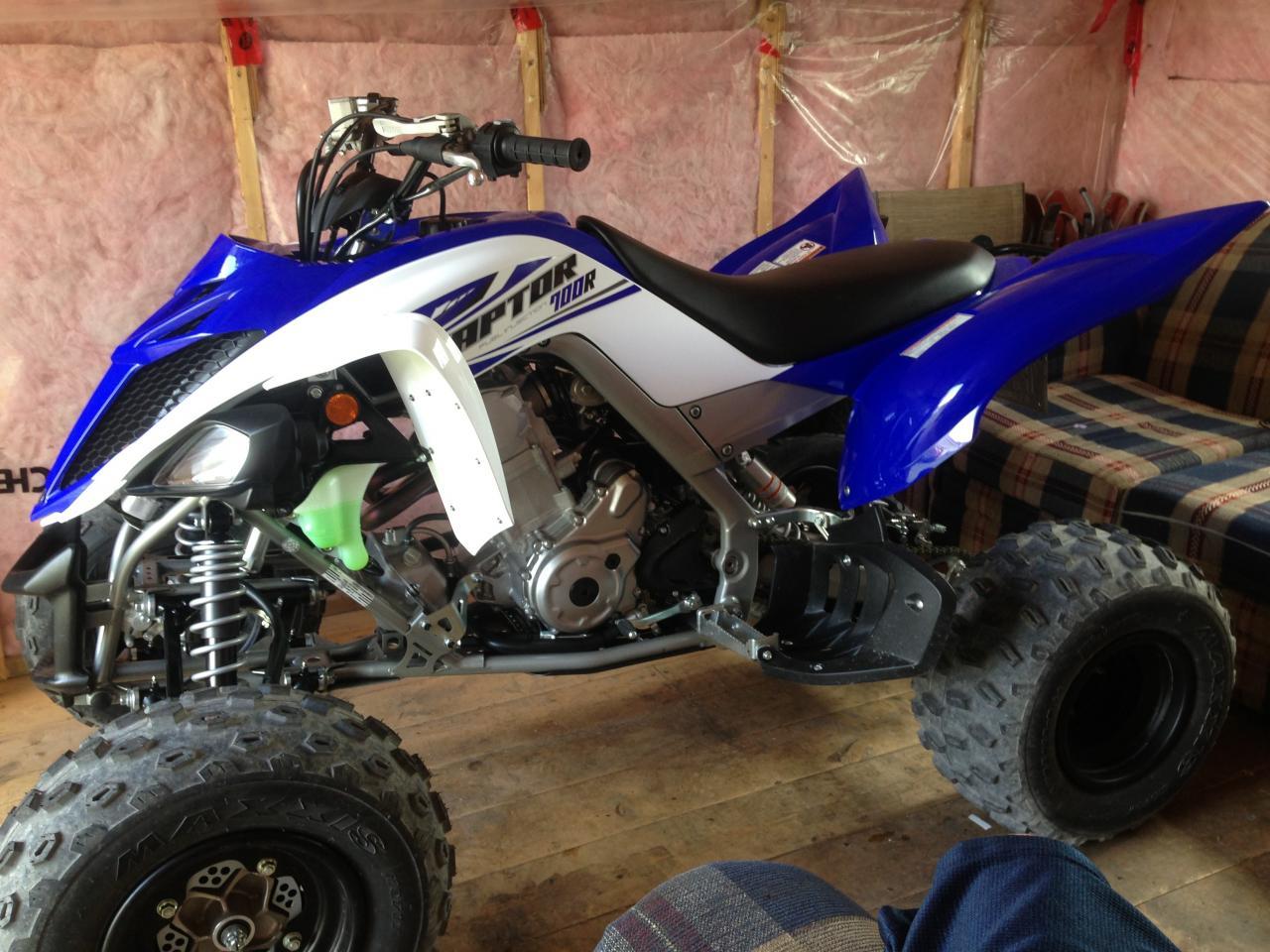 2014 700r front suspension!? - Yamaha Raptor Forum