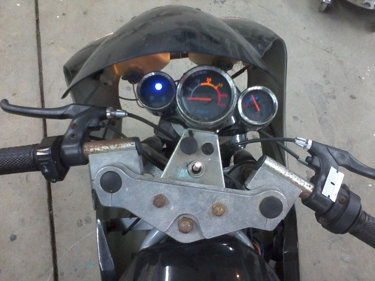 rukindcovers selling cateye pocket bike headlight covers - Yamaha ...