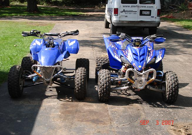 Post your raptor 350's here, stock or modified. - Yamaha ...