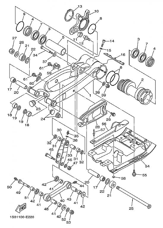 06 Yamaha 660 Wiring Diagram