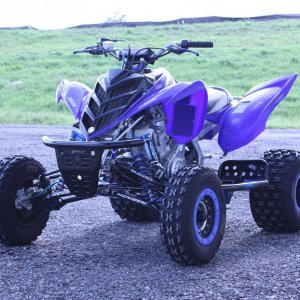 Raptor 700 Tag Railer Chassis Glide Plate 033